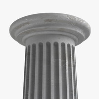 free obj model concrete column
