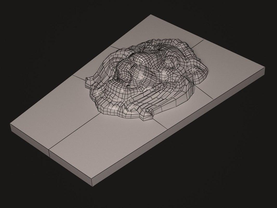 3d decorative model