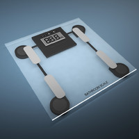 3d bathroom scale