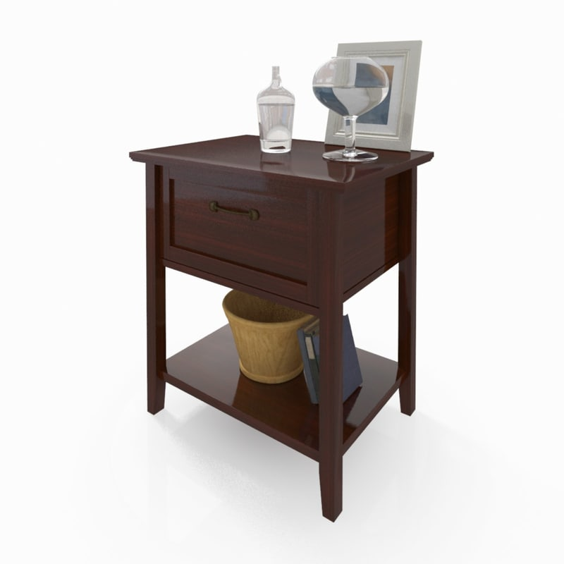 bedside table max