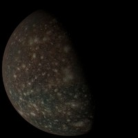 3ds photorealistic callisto