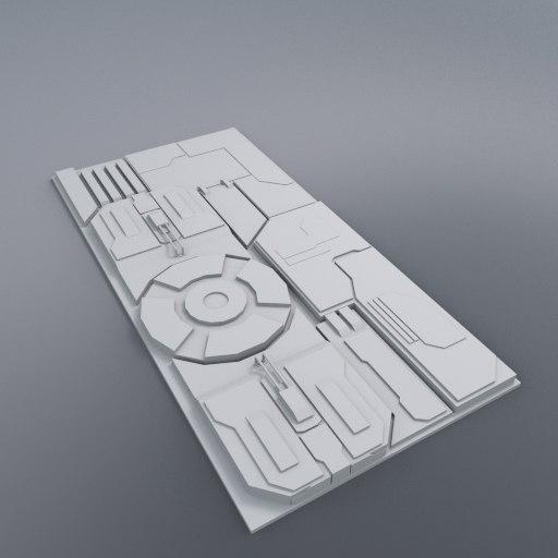 3d hull segment model