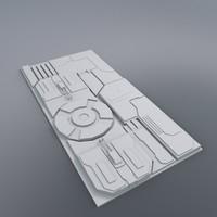 Flat Hull Detail Segment 4