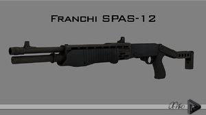 3d model franchi spas-12