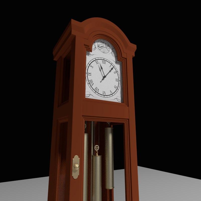 maya grandfather clock