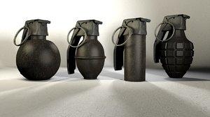 c4d grenade pack