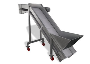 cinema4d incline hopper conveyor