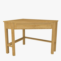 3ds max corner desk