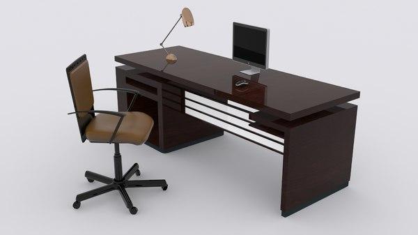 modern desk max free