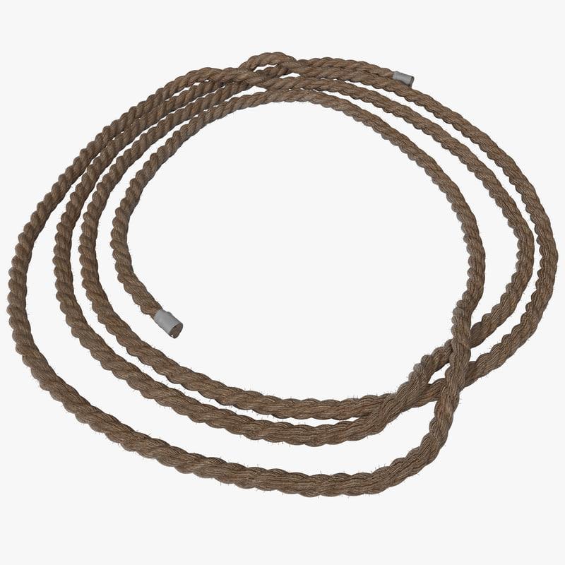 3d rope 4 model
