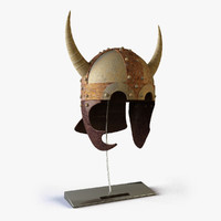 viking helmet 3d 3ds