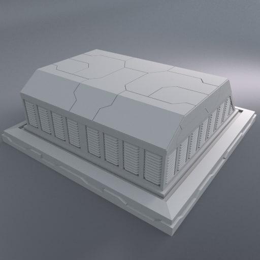 3ds max square vent