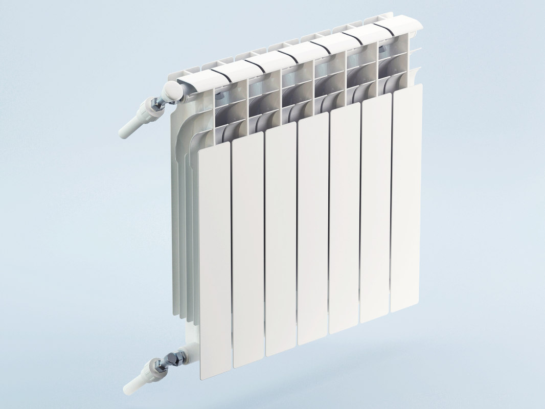 hq heating radiator 3d max