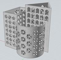 3d model pencil case
