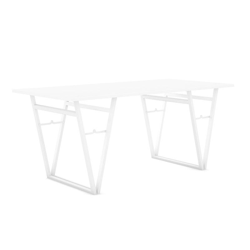 white modern table max