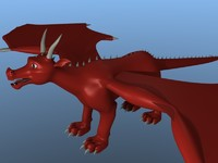 3d dragon gorin model