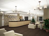 3d max hotel reception