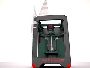 printer makerbot 3d 3ds