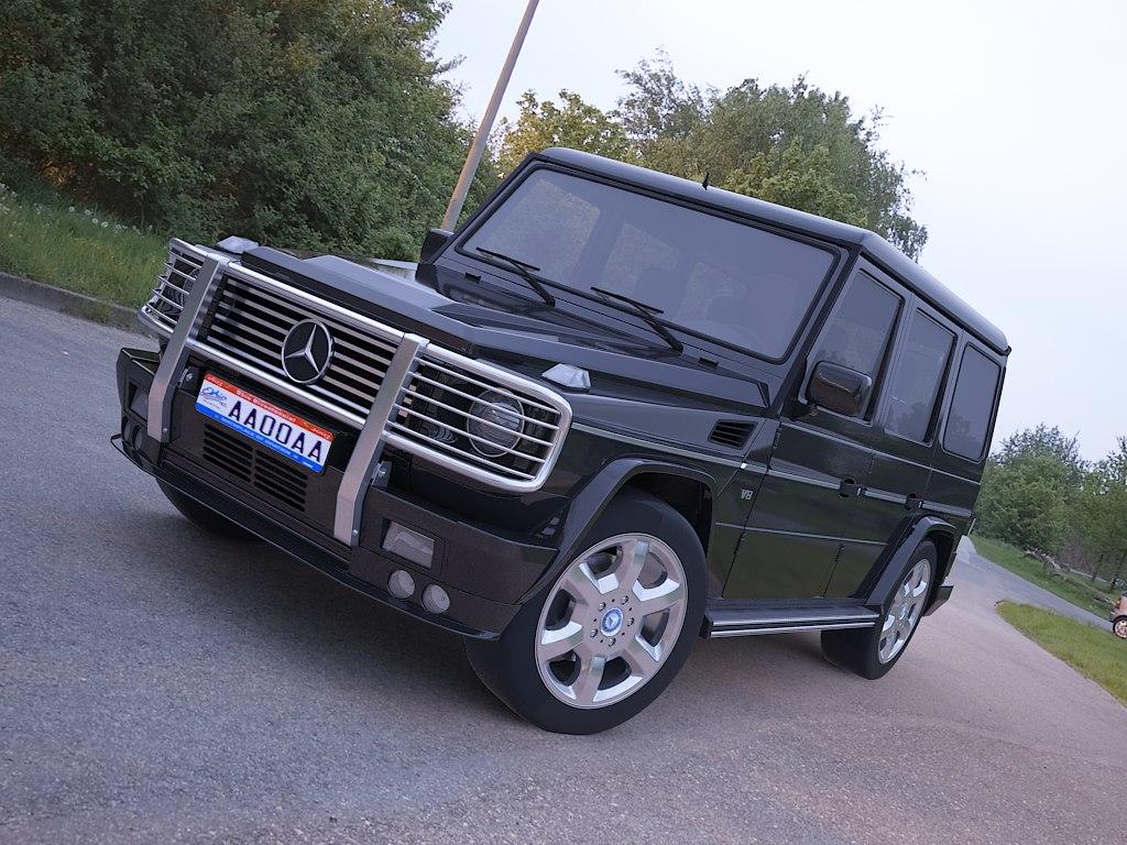 3d model mercedes g class
