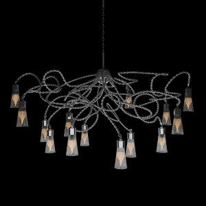 3d model of chandelier oval