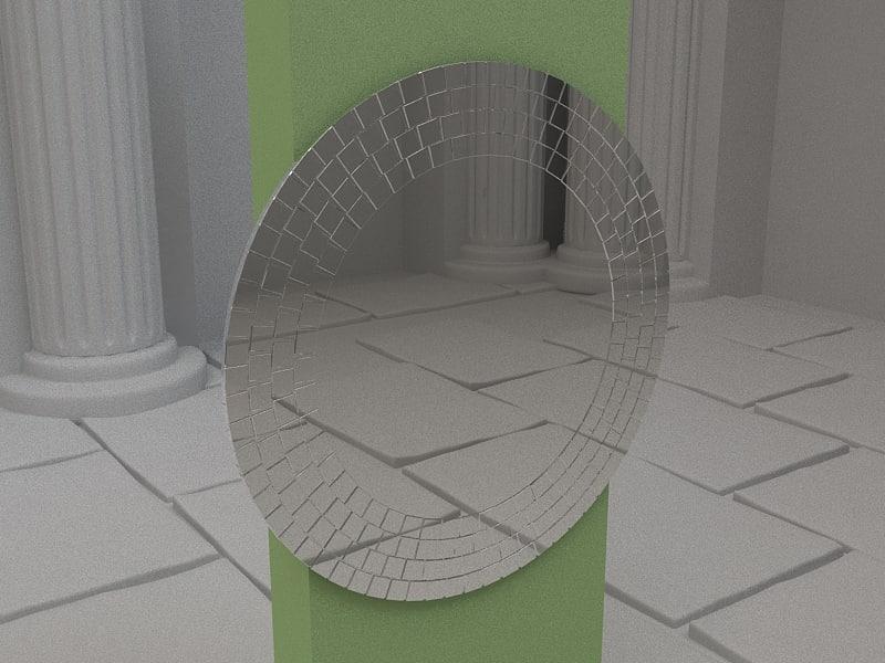 tranbi mirror 3d model