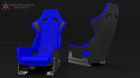 Racing car-seat
