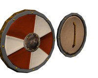 shield targe 3d model