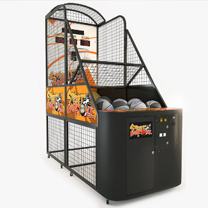 arcade basketball 3d max