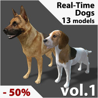 Real-Time Dogs Collection Vol. 1