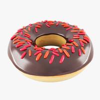 3d model donut