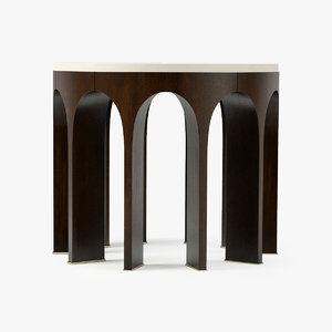 3d baker arcade center table