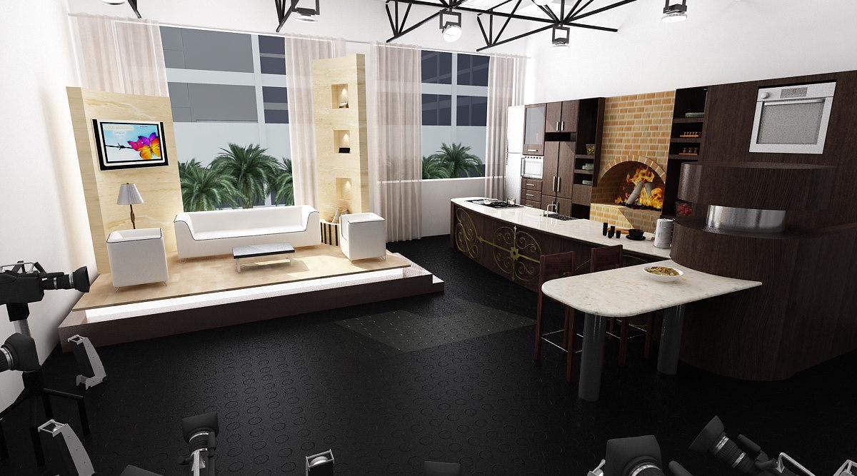 scene tv studio max