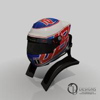 Jenson Button 2014 Helmet