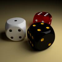 dices 3d model