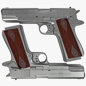 double barrel pistol 3ds