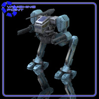 3d robot hawksclaw mech