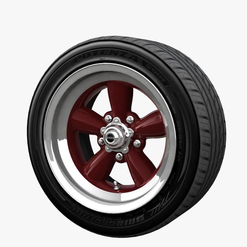 wheel mrwheel obj