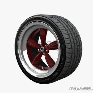 wheel mrwheel 3d c4d
