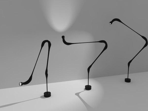 paranoid lamp 3d model