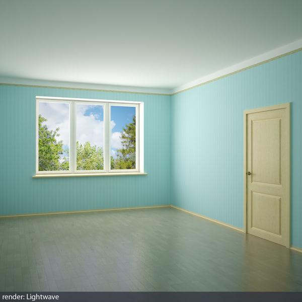 3d model room 3