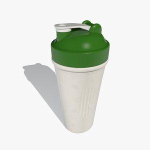 3d shaker cup model
