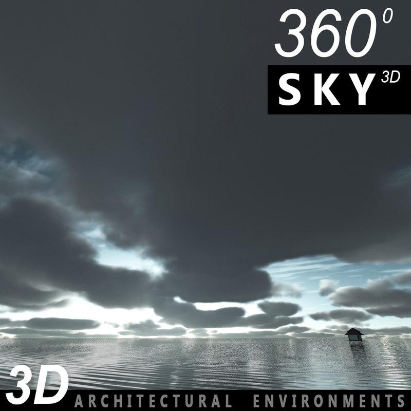 3d max sky clouds