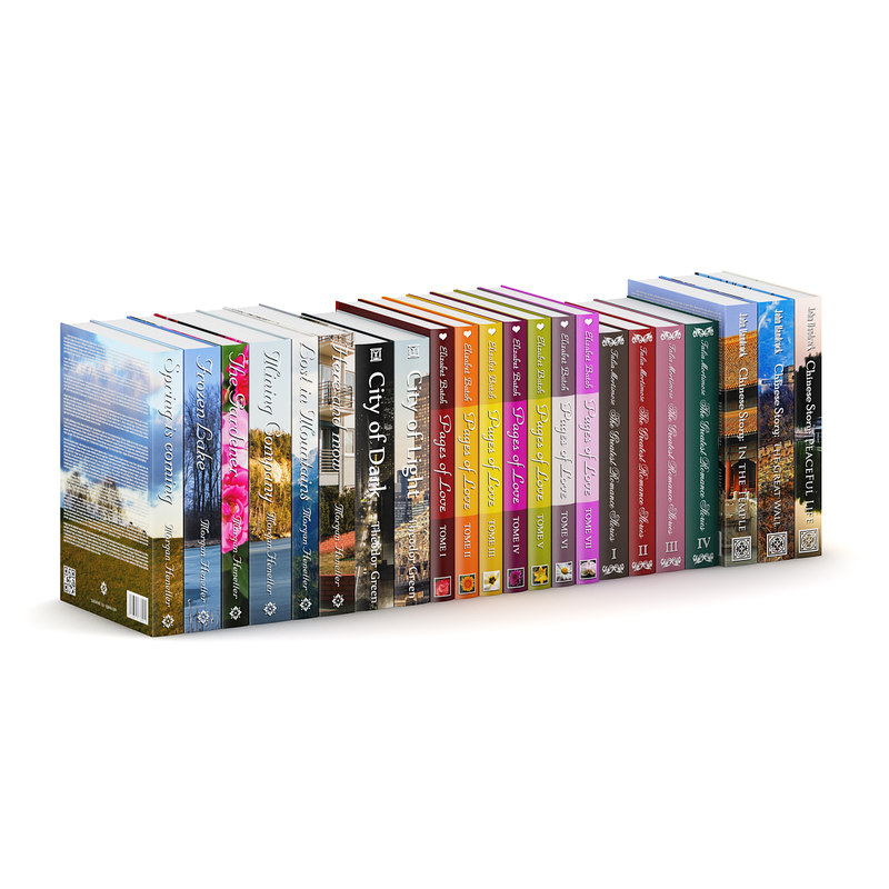3d model hardcover novel books