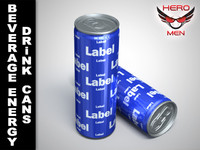 Beverage energy cans