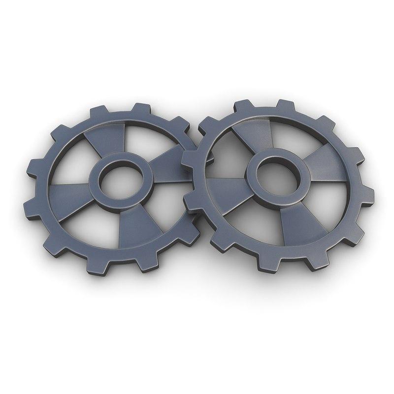 3ds max gear 12 steam punk