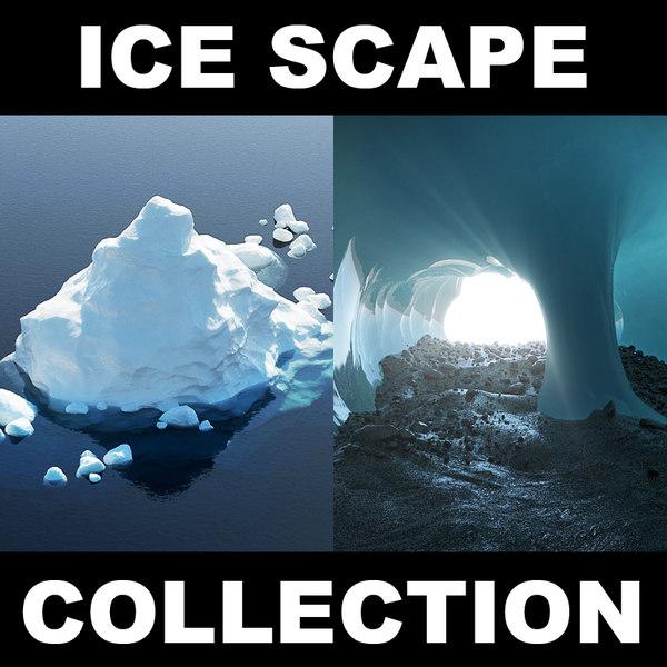 max iceberg ice landscape