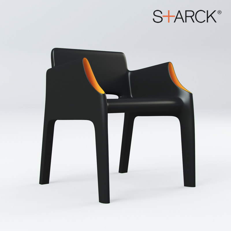 magic hole chair 3d max