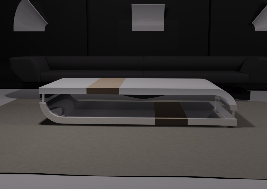 coffee table 3d fbx
