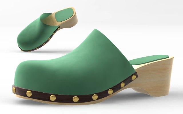 shoes cloth 3d model