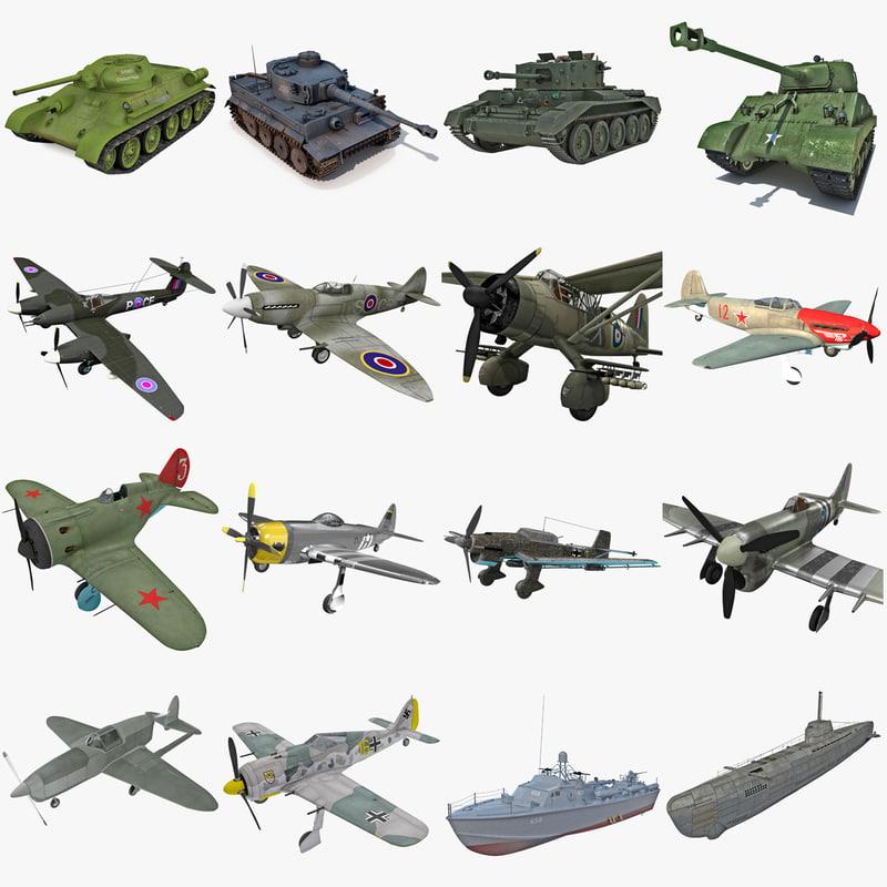 3ds max world war ii vehicle